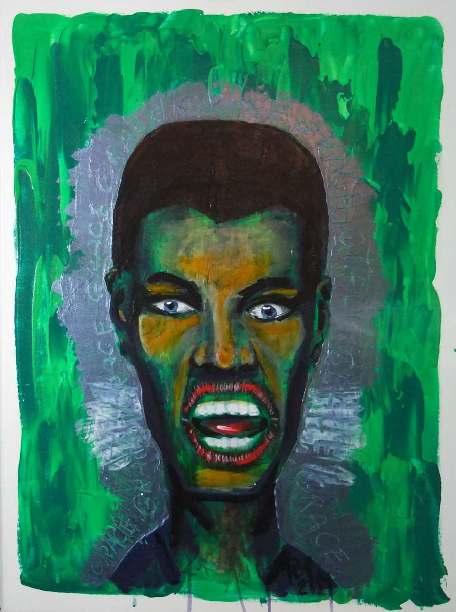 Portrait Grace Jones