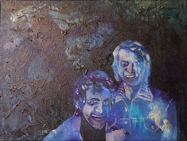 Acryl, Starsky and Hutch, 30x40cm